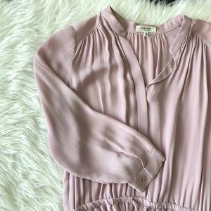 Aritzia Babaton Bennett Silk Dress